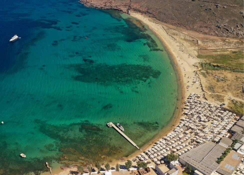 μύκονος παραλίες πάνορμος