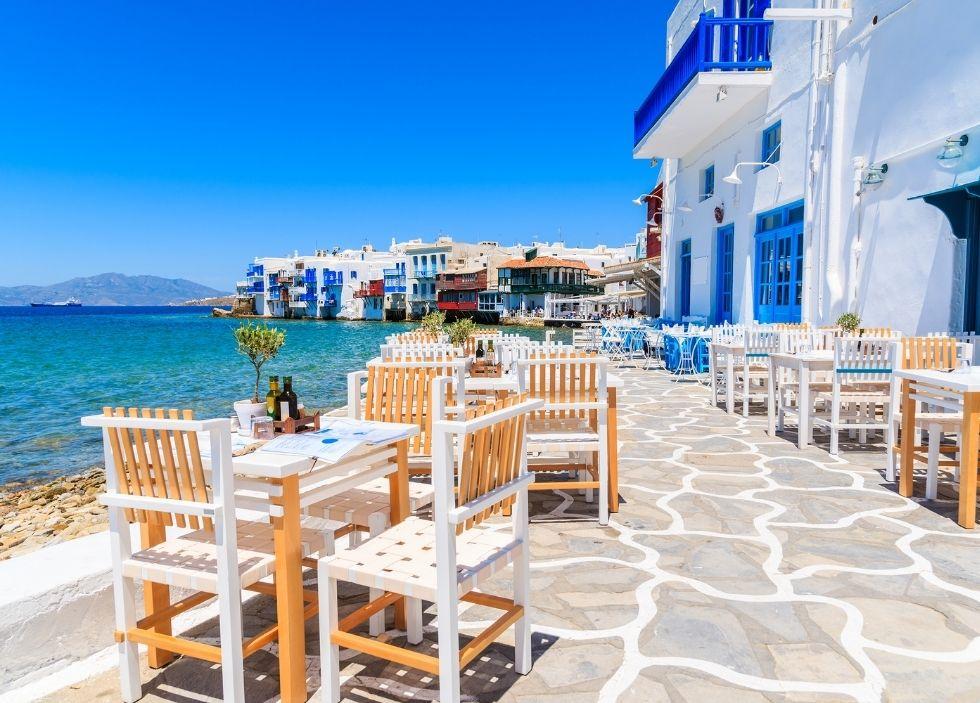 νησιά κοντά στην Αθήνα